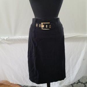 Cache contour  collection  black skirt size 8